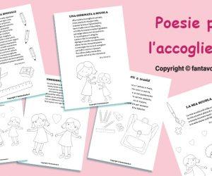 Poesie per il progetto accoglienza