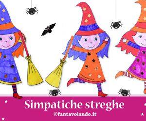 Halloween: simpatiche streghe