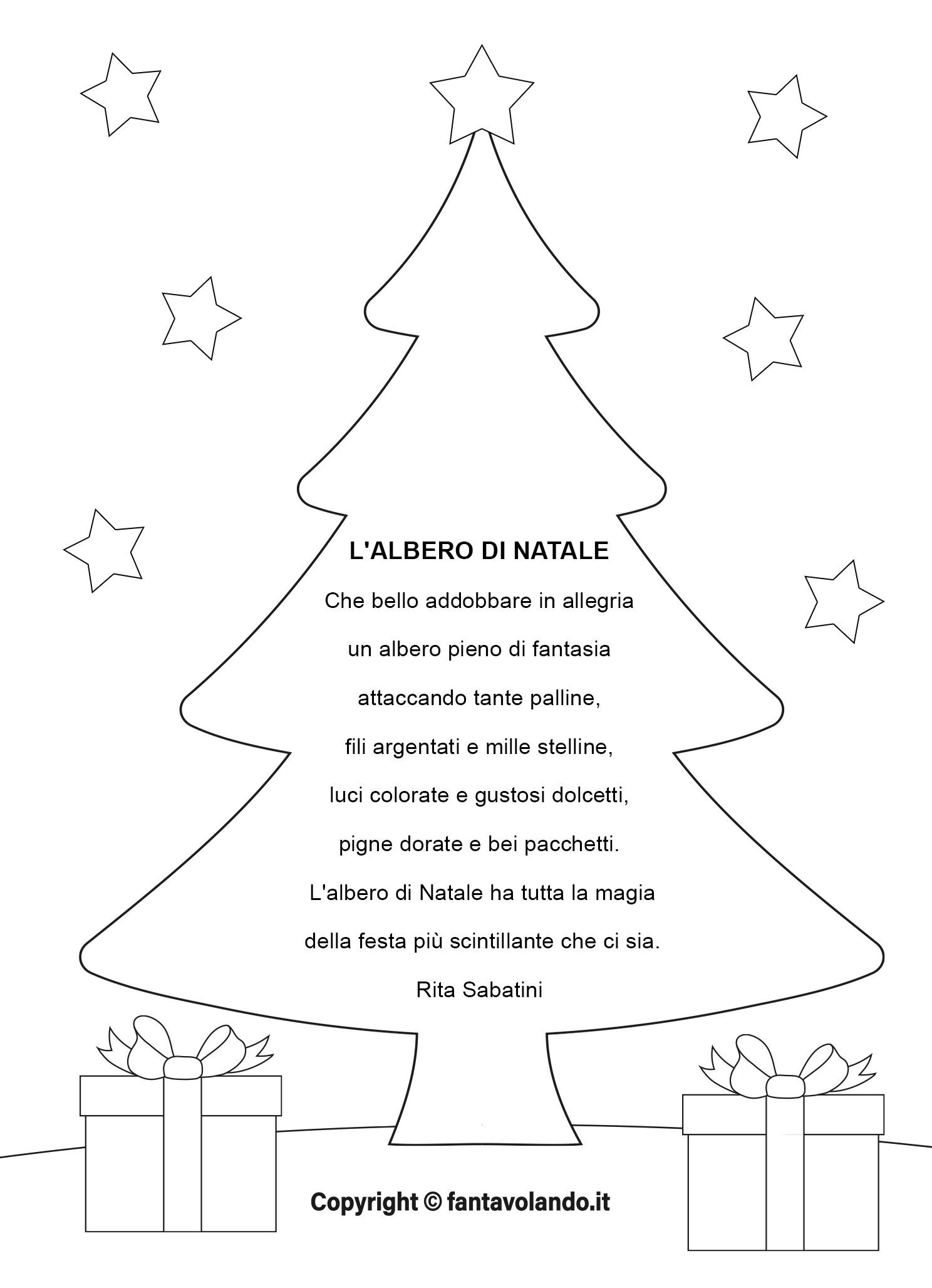 Poesie Di Natale In Inglese Per Bambini.Poesie Per Natale Fantavolando
