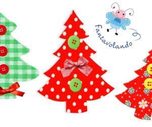 Alberi di Natale di cartoncino