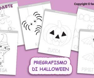 Pregrafismo di Halloween (prima parte)