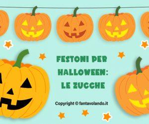 Festoni per Halloween: le zucche