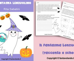 Il fantasma Lenzuolino (racconto e schede)