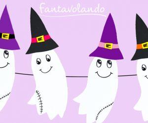 Festoni con i fantasmi