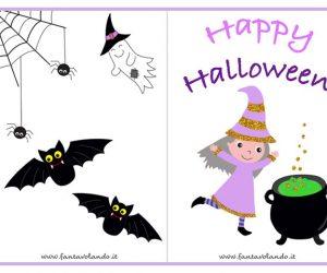 Halloween (gli inviti con le streghe)