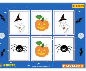 Il memory di Halloween (versione facilitata)