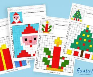 Pixel art di Natale