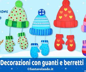 Lavoretti per l'inverno: guanti e berretti