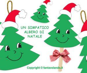 Un simpatico albero di Natale