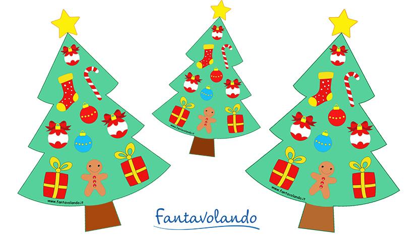 Albero Di Natale Disegno Da Colorare.L Albero Di Natale Da Colorare Fantavolando