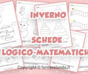 Schede logico-matematiche per l'inverno
