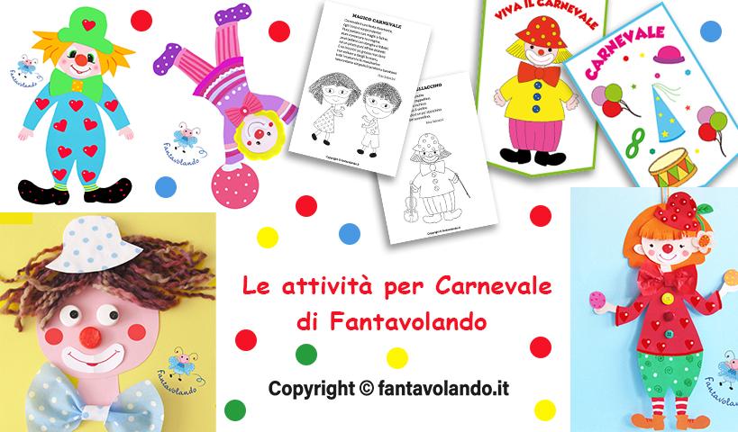 Attività per Carnevale
