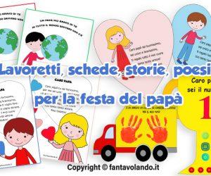 Festa del papà: lavoretti, biglietti di auguri, schede didattiche, storie e poesie
