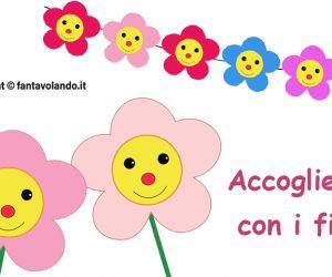 Accoglienza… con i fiori