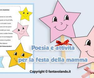 Cara mamma sei una stella (poesia e attività creativa)