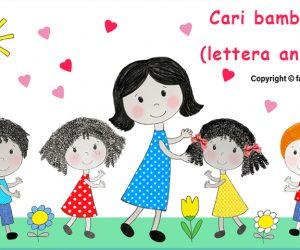 Cari bambini… (lettera animata)