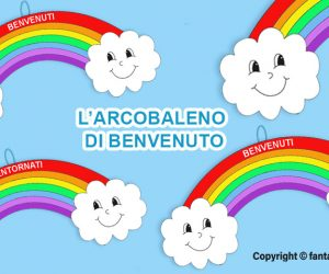 L'arcobaleno di benvenuto