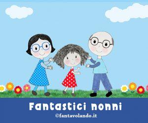 Festa dei nonni: fantastici nonni (storia animata)