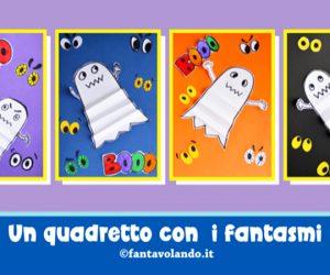 Halloween: un quadretto con i fantasmi