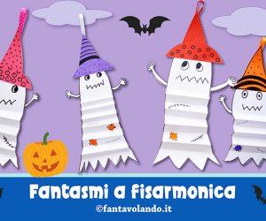 Lavoretti Halloween: fantasmi a fisarmonica