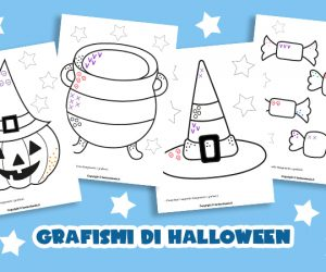 Schede didattiche: grafismi di Halloween