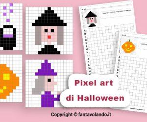 Coding di Halloween: le schede di pixel art