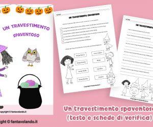 Halloween: un travestimento spaventoso (storia e schede)