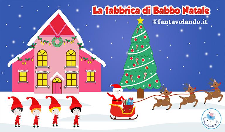 Poesie Di Natale In Inglese Per Bambini.Poesie Per Natale La Fabbrica Di Babbo Natale Video Fantavolando