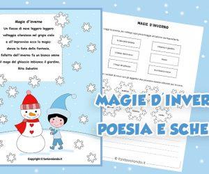 Poesie per l'inverno: Magie d'inverno