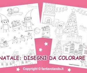 Natale: disegni da colorare