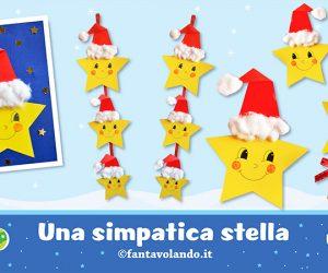 Lavoretti di Natale: una simpatica stella