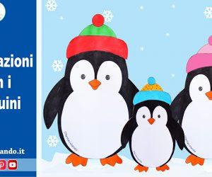 Lavoretti per l'inverno: decorazioni con i pinguini