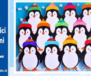 Attività per l'inverno: simpatici pinguini