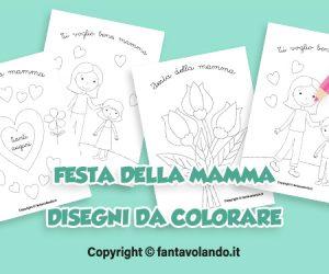 Festa della mamma: disegni da colorare