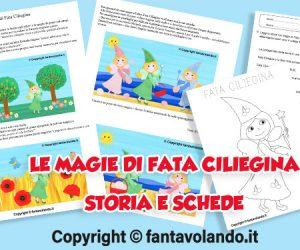 Estate: Le magie di Fata Ciliegina (storia e schede didattiche)