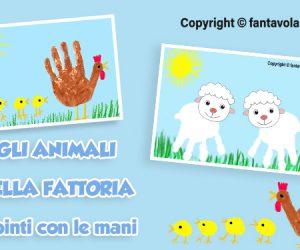 Gli animali della fattoria: la pecora, la gallina e i pulcini