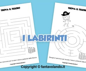Schede per l'estate: i labirinti
