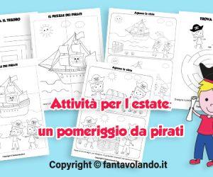 Attività per bambini: un pomeriggio da pirati