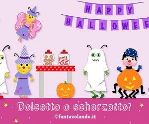 Halloween: dolcetto o scherzetto? (storia animata)