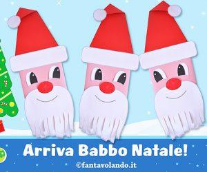 Lavoretti di Natale: arriva Babbo Natale